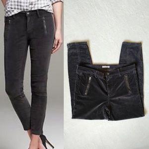 Banana Republic Skinny Courdury Zipper Pants 32